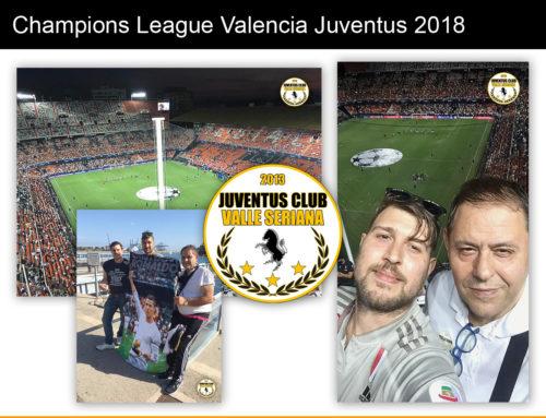 Champions League Valencia Juventus 2018