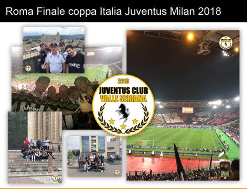 Roma Finale coppa Italia Juventus Milan 2018