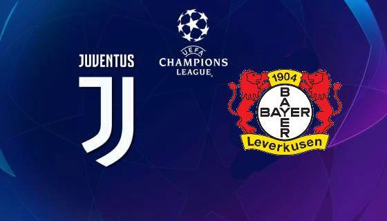 Juve-Bayer Leverkusen Allianz Stadium, martedì 01 ottobre ore 21.00