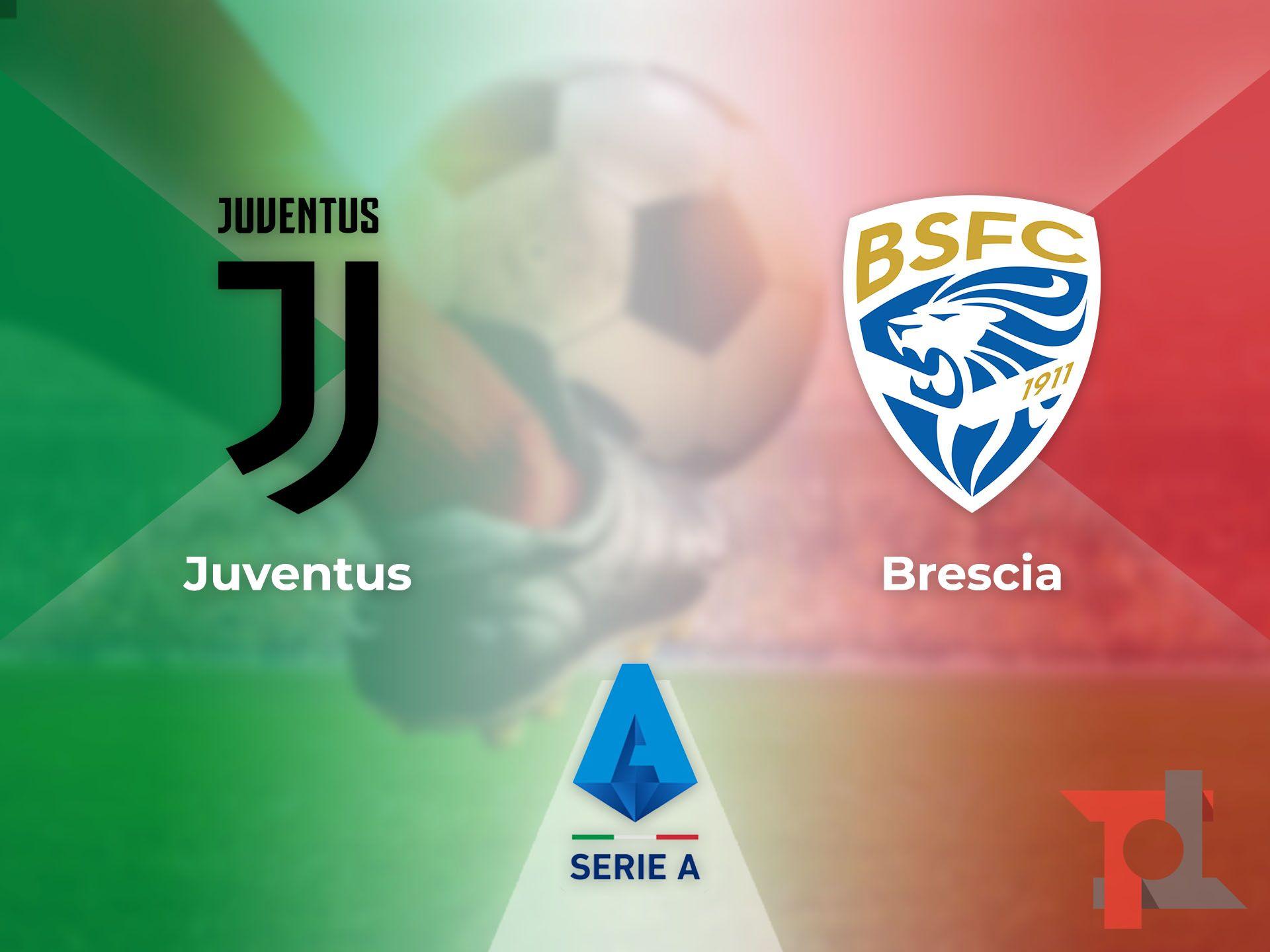 Juventus - Brescia Domenica 16 febbraio ore 15.00, Allianz Stadium